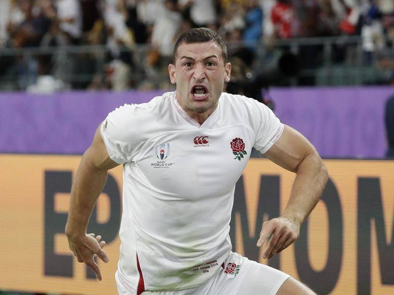 England's Jonny May has been acclaimed by his coach after his brilliant double against Ireland.